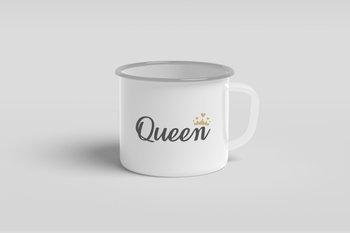 Kubek metalowy dla niej  Queen